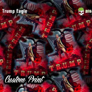 Trump Eagle Hydrographic Film Custom Fil