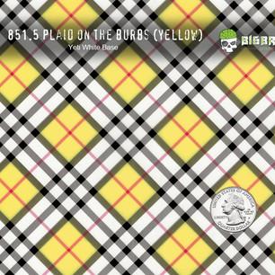 851 Plaid on the Burbs Yellow Interior H