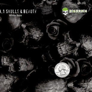 479-Skulls-Beauty-Roses-Demonic-Motorcyc