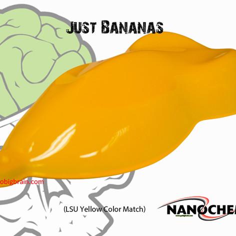Just Bananas LSU Yellow Big Brain Graphi
