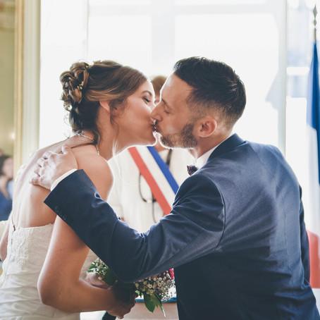 Mariage parisien à L'Orangerie de Vatismenil