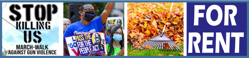 PNN Newsletter: Stop Killing Us March, Democracy Can't Wait Rally, Rec Center Clean-Up in Germantown
