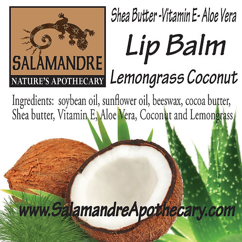 Lip Balm - Lemongrass Coconut