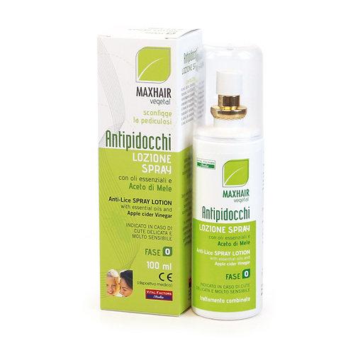 Lozione spray Antipidocchi