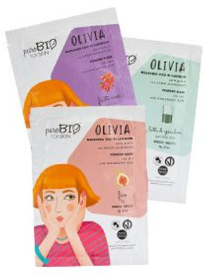 Maschera peel off OLIVIA - Pelli grasse