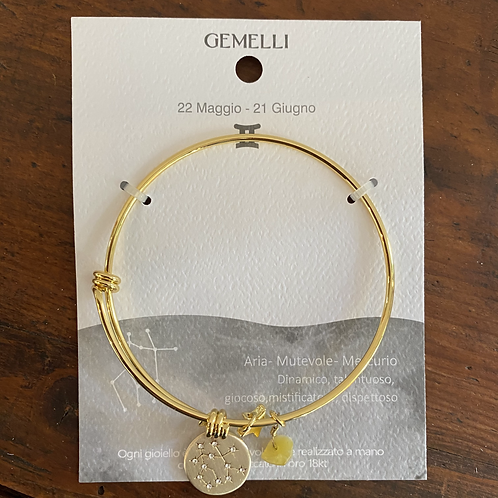 Bracciale zodiaco GEMELLI