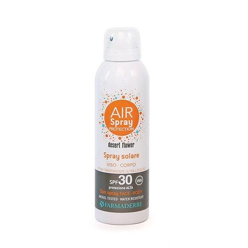 Solare Spray viso-corpo SPF 30 Farmaderbe