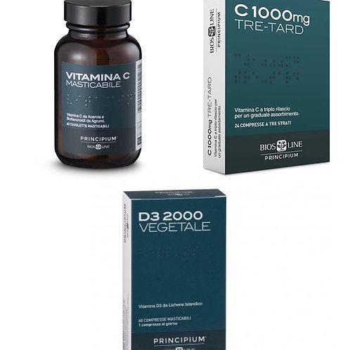 Promo Vitamine C + D compresse