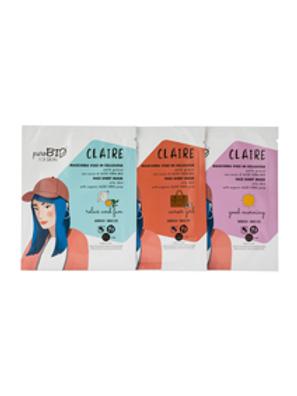 Maschera in tessuto CLAIRE - Pelle Grassa