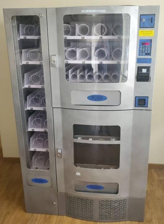 Seaga Office Deli Vending Machine like new