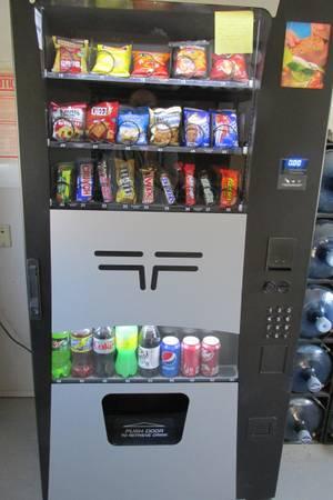1 Wittern 3589 Combo Vending Machines