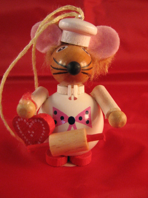 Christmas Mouse Cook-(Z-2921)
