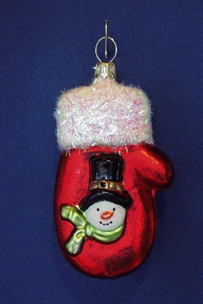 Snowman Mitten     A07-144A