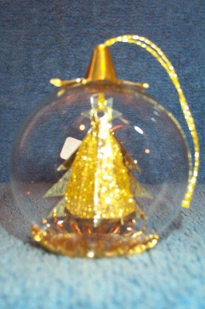 6cm Gold Tree