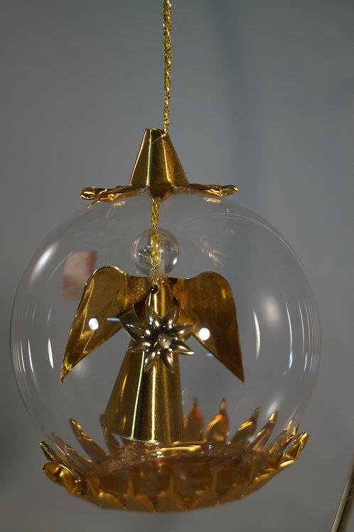 6cm Gold Angel w/Star