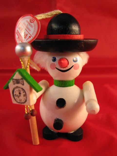 Black Forest Snowman-(Z_2902)