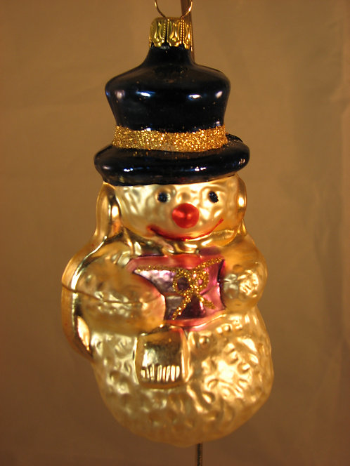 Snowman with Blue Hat  A07-133b