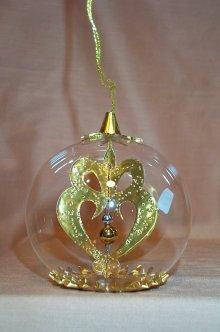 Embossed Gold Heart  154G