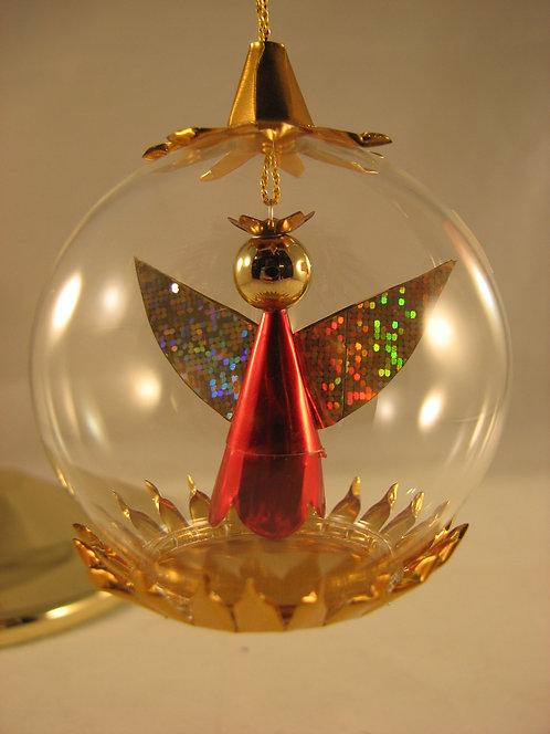 6cm Red/Gold Angel