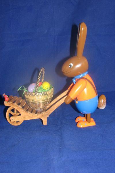 Bunny w/Wheelbarrow
