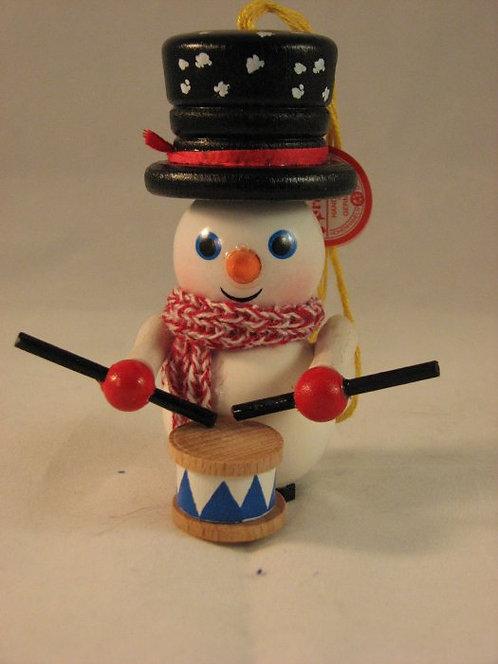 Drummer Snowman-(Z-438)