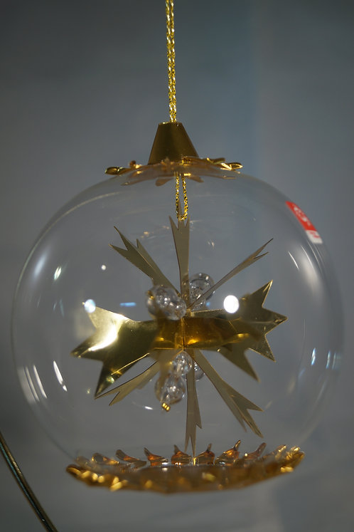 Gold Snowflake   113G