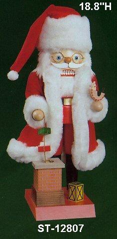 Santa w/Chimney     12807