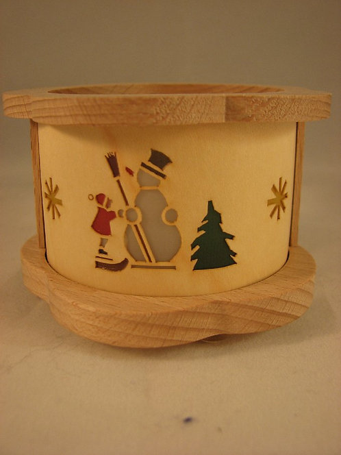 Snowman Tea Light           04385