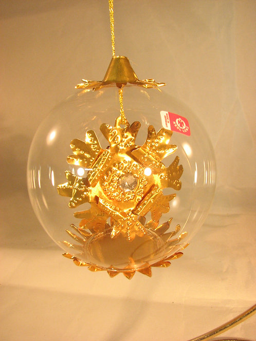 Snowflake Jewel Gold 172