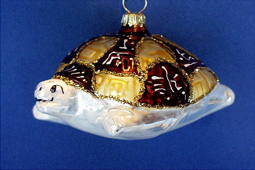 Gold & Brown Turtle     A07-140A