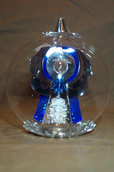 Silver/Blue Angel  163SB