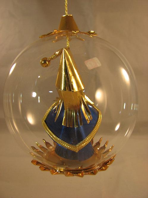 Blue/Gold Santa   111B