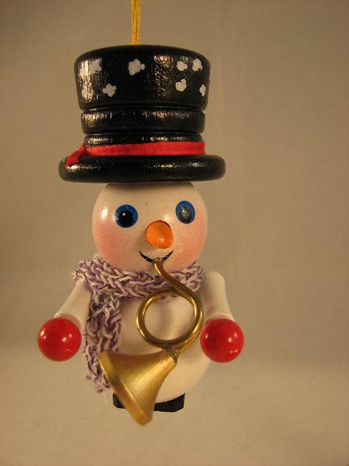 Snowman with Trumpet-(Z-437)