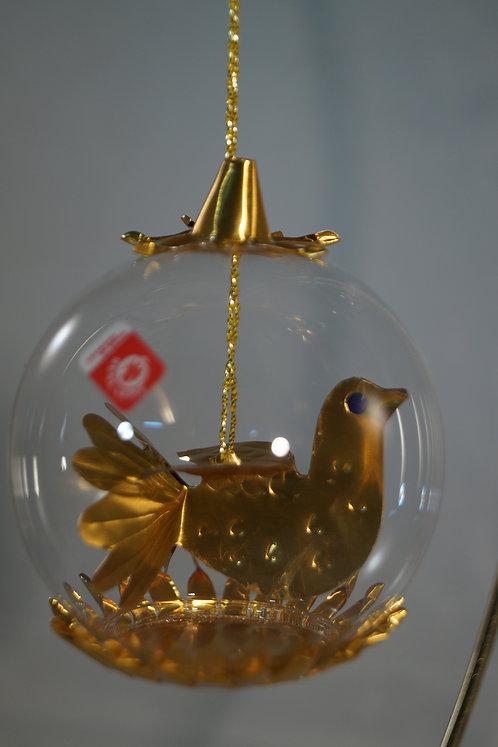 6cm Gold Hen