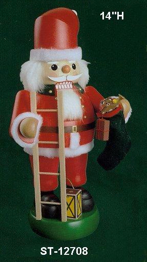 Santa w/Ladder                           12708