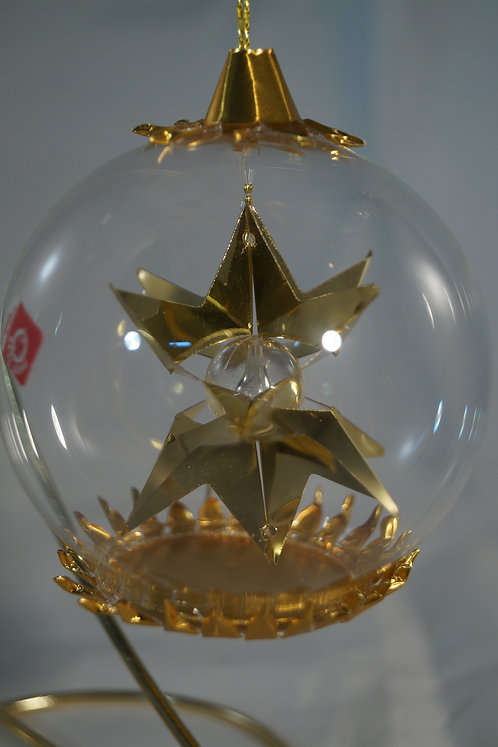 Gold Large Star Clear Center   120GC