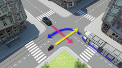 Verkeerssituatie - 3D Theorie examen