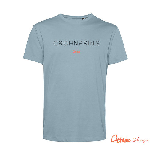 SALE! Shirt man – Crohnprins - Blue fog - 2XL
