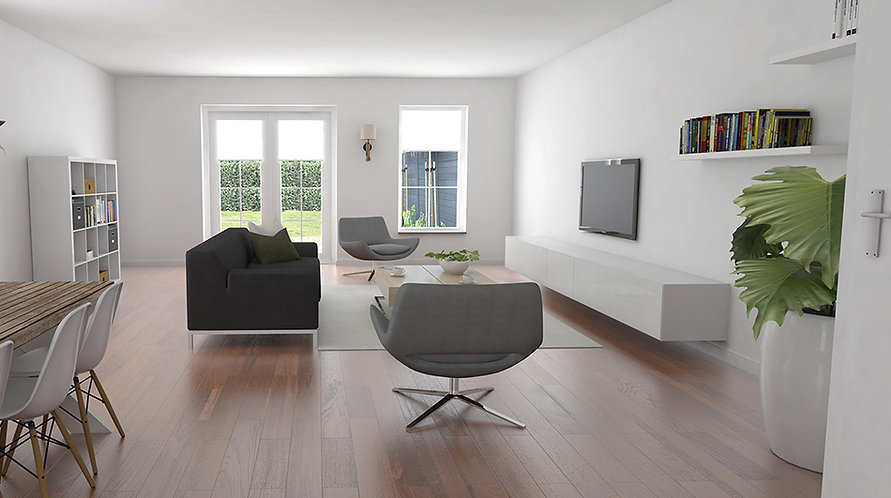 3d impressies, artist impression, rendering, nieuwbouw interieur, woning verkoop