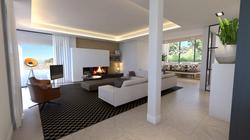Villa Frankrijk - woonkamer