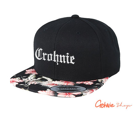 Snapback - Floral red