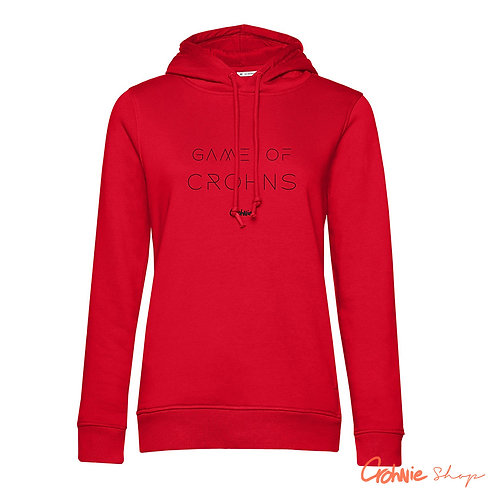 Hoodie vrouw - Game of Crohns