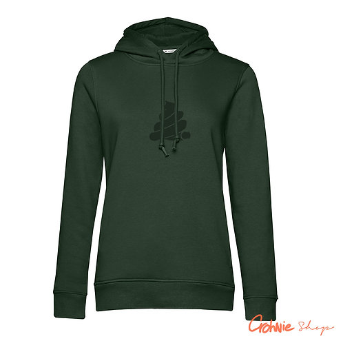 Hoodie vrouw - Forest Green