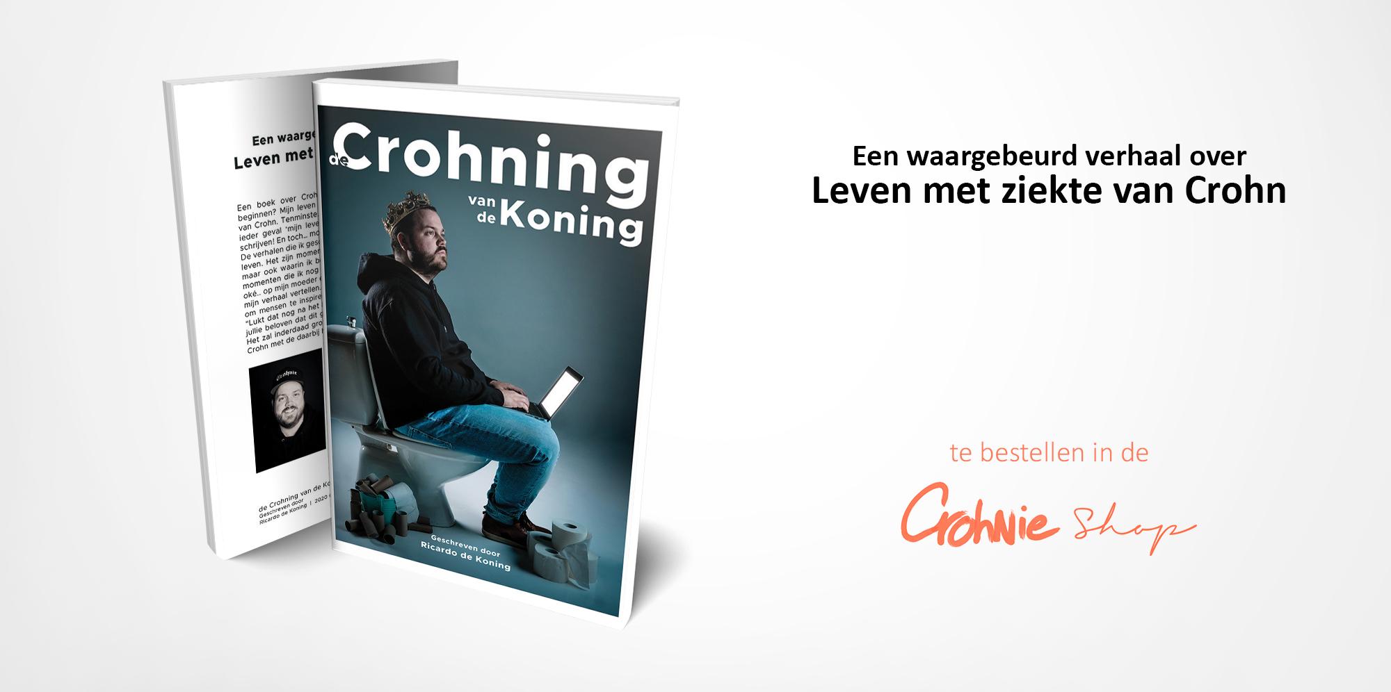 Banner_Boek voor en achter_De Crohning v