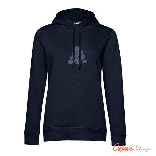 Hoodie vrouw - Navy Blue