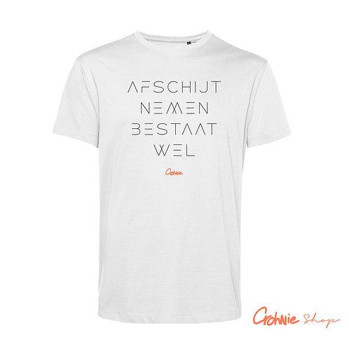 SALE! Shirt man – Afschijt nemen bestaat wel - White - 3XL