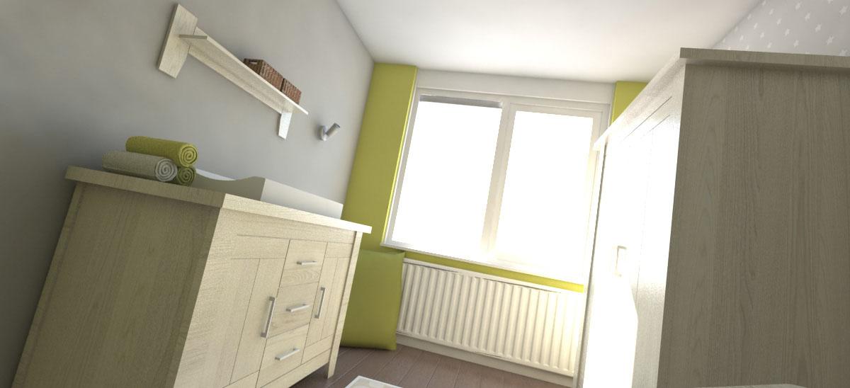 Baby kamer ontwerp