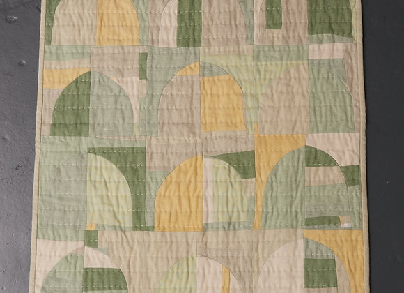 Green Arches Small Quilt