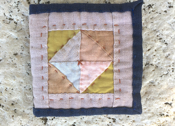 Hand Quilted Needle Book N