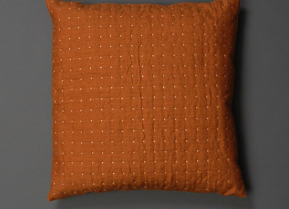 Plus Cushion in Rust